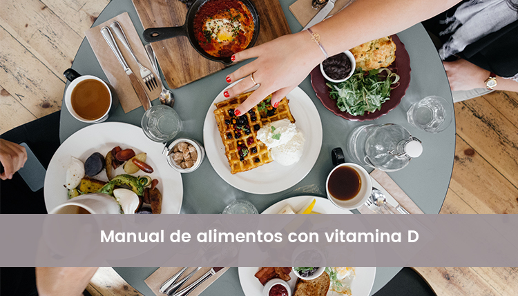 Manual de alimentos con vitamina D